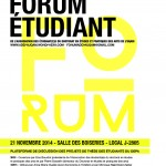 Forum Étudiant, 2014